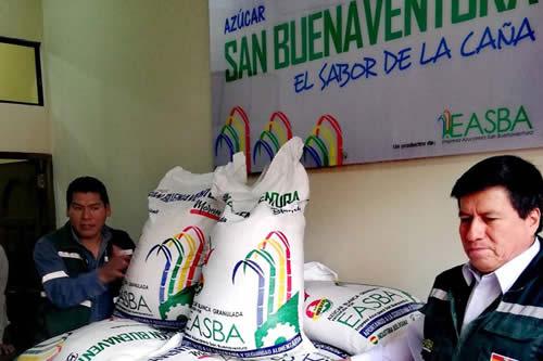 Ingenio de San Buenaventura negocia con Bélgica la exportación de azúcar