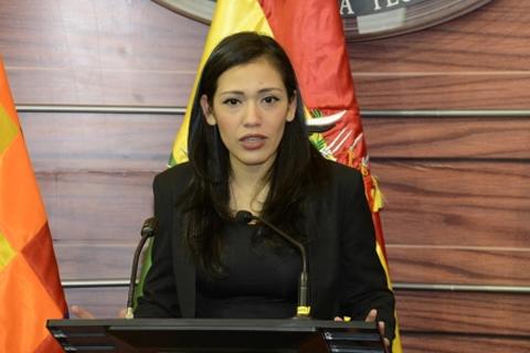 Presidenta del Senado dice que Ortiz no puede eludir su responsabilidad en el intento separatista