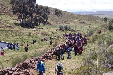 Morales encabezará caminata internacional por la ruta del 'Qhapaq Ñan', símbolo de integración