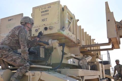 El despliegue de tropas en Oriente Medio incluirá un batallón de misiles Patriot, drones y aviones de vigilancia