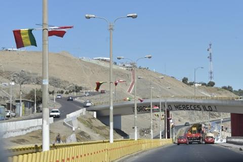 Ilo recibe el V Gabinete Binacional Bolivia-Perú embanderada y con esperanza de potenciar su economía
