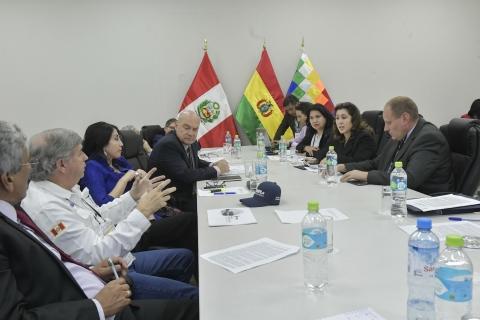 Gabinete marcará un hito en las relaciones Bolivia-Perú