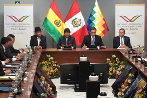 Bolivia y Perú suscriben 12 acuerdos y 92 compromisos bilaterales que dinamizan la agenda de ambas naciones