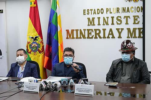 """Minería presenta plataforma digital """"La Veta"""" para facilitar acceso a la información"""