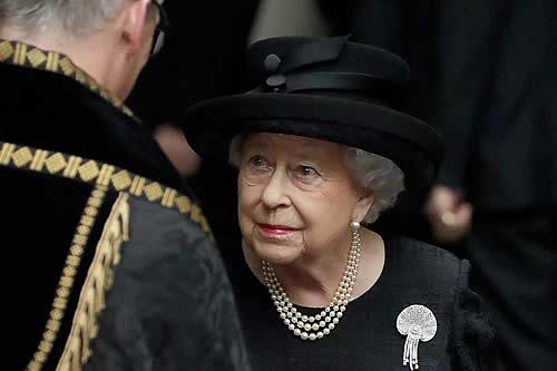 Así se encuentra la reina Isabel II tras la muerte de su esposo, el príncipe Felipe