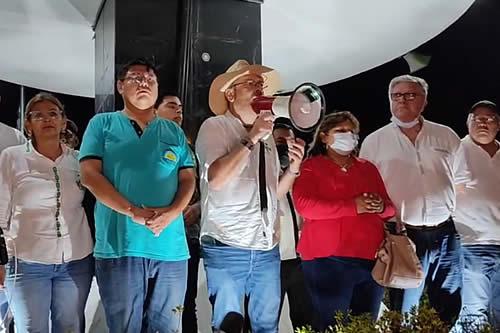 Calvo dice que gremiales dieron plazo de 72 horas al Gobierno para la abrogación de 'leyes malditas'