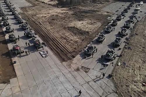 Rusia realizó ejercicios militares a gran escala en Crimea