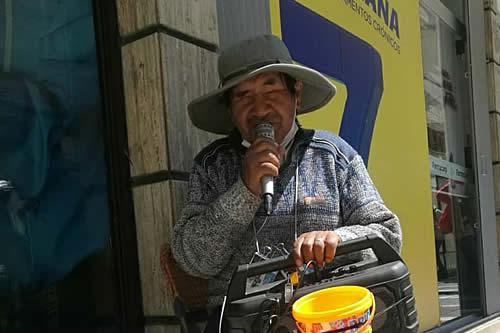 """Para Santiago Tacatico """"la ceguera no es un impedimento para salir adelante"""""""