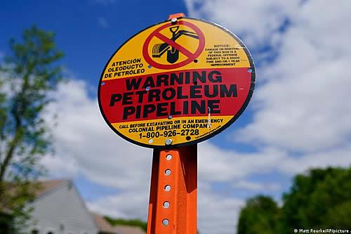 Rusia rechaza acusación de ciberataque a Colonial Pipeline en Estados Unidos