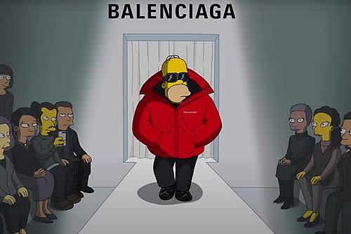 Balenciaga presenta su nueva colección con un especial y divertido episodio de 'Los Simpson'