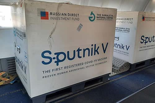 Llegan al país 378 mil segundas dosis de la vacuna Sputnik V