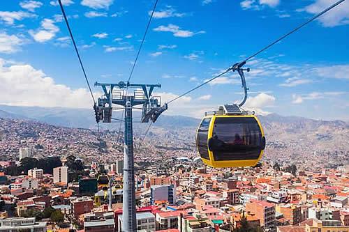 """Mi Teleférico incorpora la aplicación virtual """"Yala"""" para usar cualquier línea de transporte por cable en La Paz"""