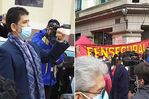 Cambian Gerente de la Caja Nacional de Salud y se desactivan las protestas de trabajadores