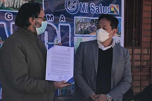 Salud autoriza a la Universidad Técnica de Oruro producir oxígeno medicinal para hospitales COVID-19