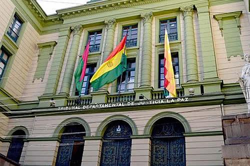 Tribunal de Justicia convoca a posesión de autoridades electas de La Paz y El Alto