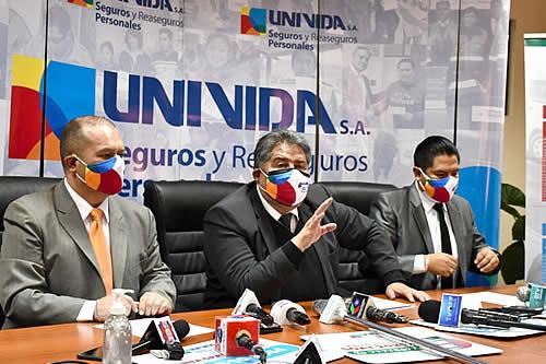UNIVida recaudó más de Bs 6,6 millones por la venta de 79.690 pólizas del SOAT 2021