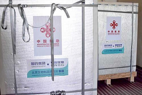 Gobierno coordina reuniones con China y confirma arribo de 1 millón de vacunas Sinopharm para el 23 de junio