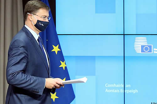 UE y Washington conversan sobre la disputa de aranceles