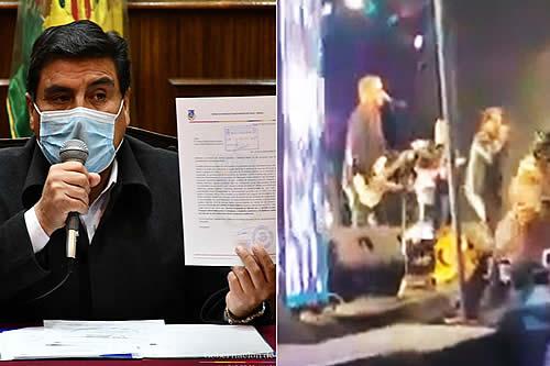 Autoridades anuncian proceso judicial por la fiesta que se hizo en Huachacalla