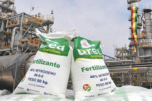El estado brasileño de Mato Grosso quiere comprar urea boliviana