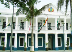 Brigada Parlamentaria (Cabildo Colonial y Casa de Gobierno)