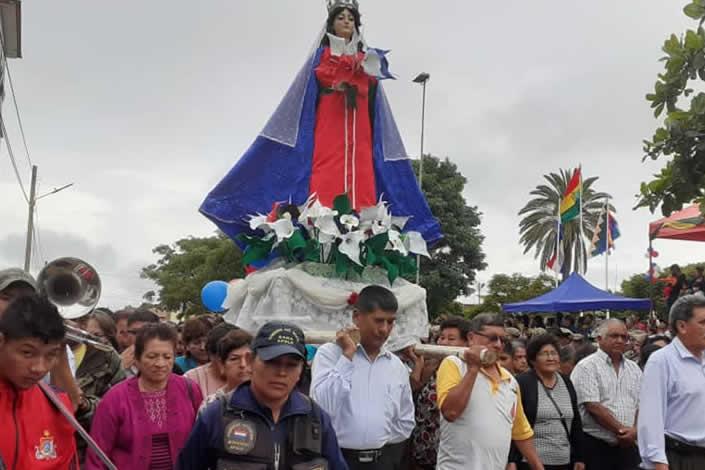 Fiesta Patronal de Apolo. Homenaje a la Virgen Inmaculada Concepción de Apolo