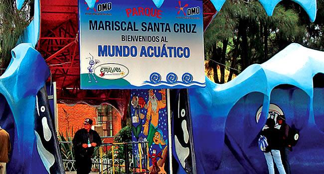 Parque acuático Mariscal Santa Cruz