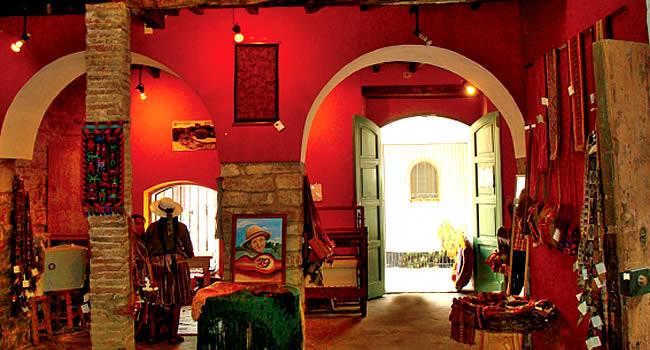 Exposición de arte Textil Andino