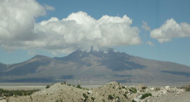 Volcán y Salar Thunupa